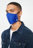 Superbalist - 2 pack alfa mask - olive & royal blue