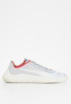 PUMA - Replicat-X suede tech motorsport shoes - grey violet-whisper white