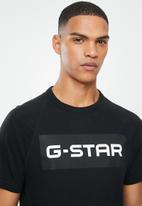 G-Star RAW - Jirgi-b art tee - black