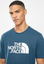 The North Face - Short sleeve easy tee - blue wing