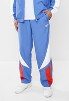 Reebok - Classic gp intl twin vector trackpants - blue