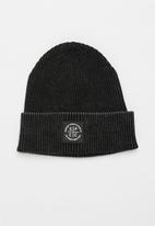 S.P.C.C. - Brower washed beanie - black