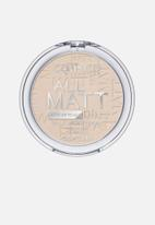 Catrice - All matt plus shine control powder - 010 transparent
