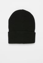 JEEP - Jeep knitted beanie - black