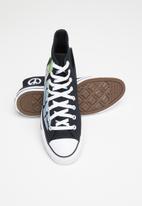 Converse - Chuck Taylor All Star hi - black / lemongrass / white