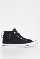 Converse - Chuck Taylor All Star cs mid - black / white / black