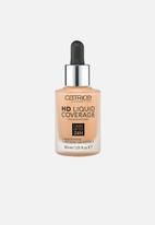 Catrice - Hd liquid coverage foundation - 037 golden beige