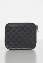 Vans - Tour zip wallet - black