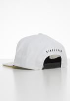 Vans - New stax snapback - white