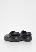 Crocs - Classic lined clog - black