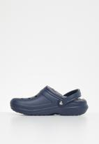Crocs - Classic lined clog - navy & charcoal