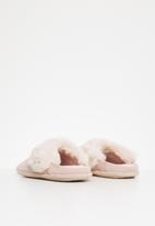Crocs - Classic luxe slipper - rose dust