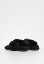 Crocs - Classic luxe slipper - black