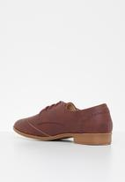Jada - Lace-up oxford - burgundy