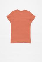 Quiksilver - Stone cold classic short sleeve - orange