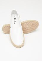 Jada - Espadrille slip-on - white