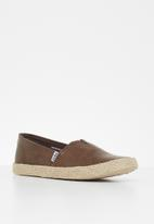 Jada - Espadrille slip-on - dark brown