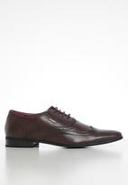 Anton Fabi - Urim mens lace up - brown