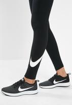 Nike - Nsw club swoosh legging - black