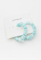 Superbalist - Belle hoop earrings - blue