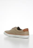 JEEP - Casual canvas sneaker - camel