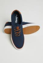 JEEP - Casual canvas sneaker - navy