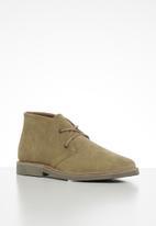 JEEP - Suede felt skoen boot - beige