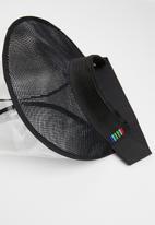 Crystal Birch - Shield visor - black