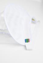Crystal Birch - Shield visor - white