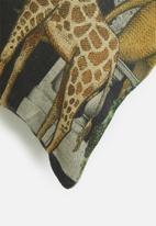 Hertex Fabrics - Jungle palace cover - dark