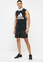adidas Performance - Mh bos tank - black