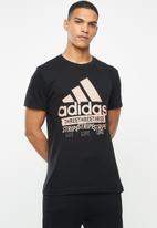 adidas Performance - Wip amp tee 2 - black