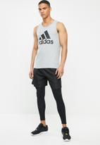 adidas Performance - Bos tank - grey