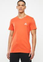adidas Performance - V-neck tee - orange
