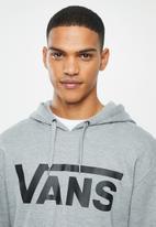 Vans - Classic pullover hoodie - grey & black