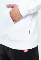 Vans - Classic pullover hoodie - white & red