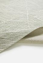 Hertex Fabrics - Impala woven outdoor rug - olive