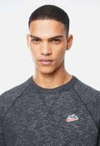 Nike - Nsw heritage crew sweatshirt - charcoal