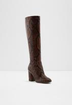 ALDO - Aloessa boot - brown