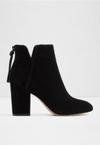 ALDO - Dominica suede boot - black