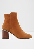 ALDO - Gwulia leather boot -  brown