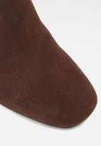 ALDO - Gwulia leather boot - dark brown