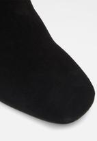 ALDO - Gwulia suede boot - black