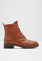 ALDO - Grenani leather boot - brown