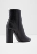 ALDO - Avlida leather boot - black