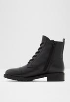 ALDO - Grenani leather boot - black