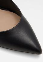ALDO - Febricly leather court - black