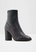ALDO - Chaynna leather boot - black