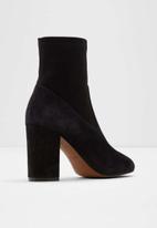 ALDO - Chaynna suede boot - black