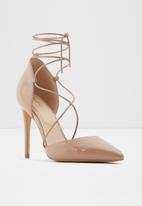 ALDO - Finsbury leather heel - neutral